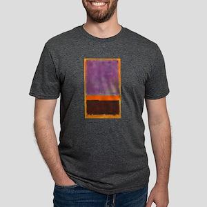 ROTHKO PURPLE ORANGE BROWN T-Shirt