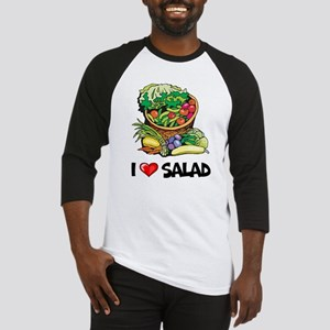 I Love Salad Baseball Jersey