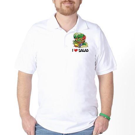 I Love Salad Golf Shirt