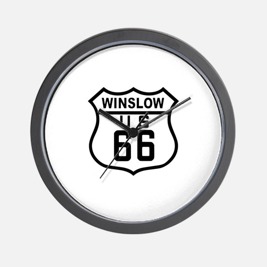 Winslow, Arizona Route 66 Wall Clock