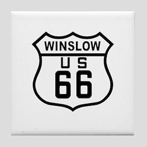 Winslow, Arizona Route 66 Tile Coaster