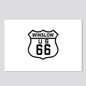 Winslow, Arizona Route 66 Postcards (Package of 8)