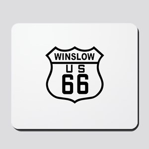 Winslow, Arizona Route 66 Mousepad