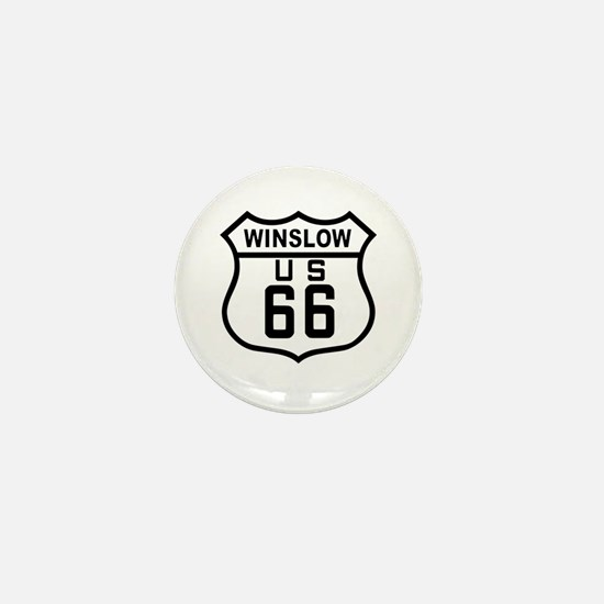 Winslow, Arizona Route 66 Mini Button