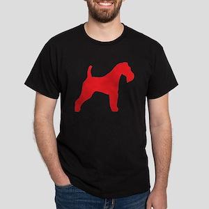 Red Wire Fox Terrier Dark T-Shirt