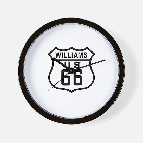 Williams, Arizona Route 66 Wall Clock