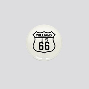 Williams, Arizona Route 66 Mini Button