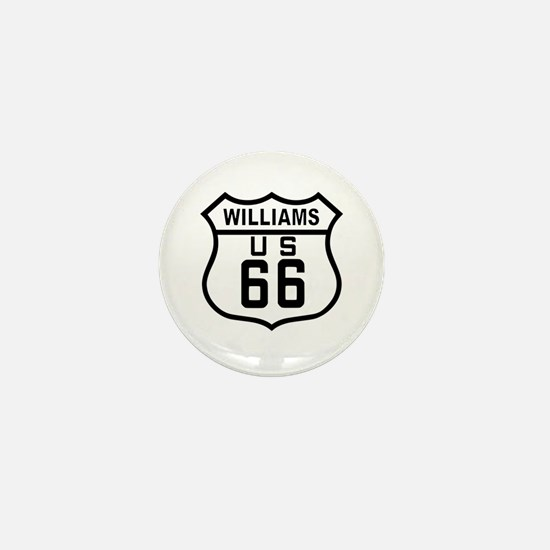 Williams, Arizona Route 66 Mini Button