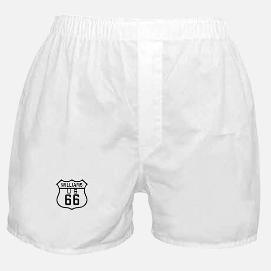 Williams, Arizona Route 66 Boxer Shorts