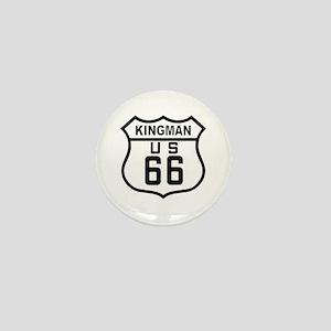 Kingman, Arizona Route 66 Mini Button