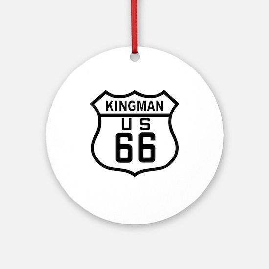 Kingman, Arizona Route 66 Ornament (Round)