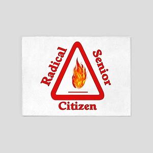Radical Senior Citizen 5'x7'Area Rug
