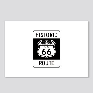 Arizona Historic Route 66 Postcards (Package of 8)
