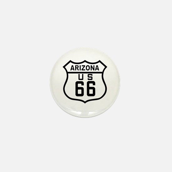 Arizona Route 66 Mini Button