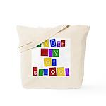 Bright Colors 100th Day Tote Bag