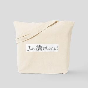 Just Married (Bride & Groom)  Tote Bag
