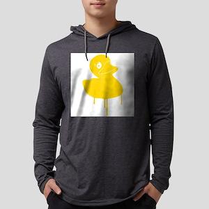 Rubber Ducky Graffiti Pop Art Long Sleeve T-Shirt