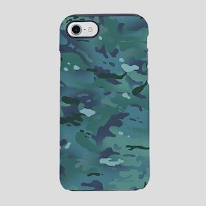 Camouflage: Ocean Colors iPhone 8/7 Tough Case