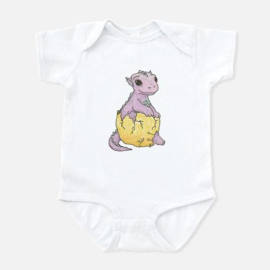 Dragon Hatchling Pastel Infant Creeper / Bodysuit