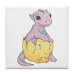 Baby Dragon's Tile Coaster