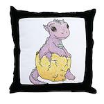 Baby Dragon's Throw Pillow