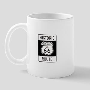 Santa Monica Historic Route 6 Mug