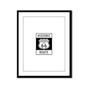 Santa Monica Historic Route 6 Framed Panel Print