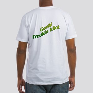 GOSH! FREAKIN IDIOT Fitted T-Shirt