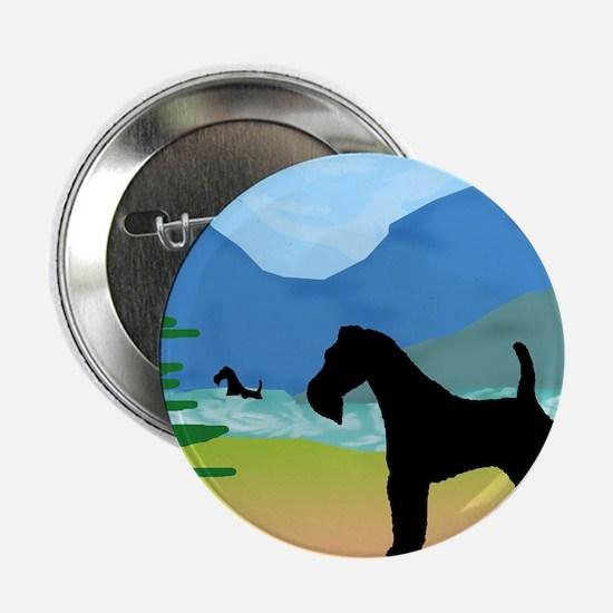 """Wild River Wire Fox Terrier 2.25"""" Button (10 pack)"""