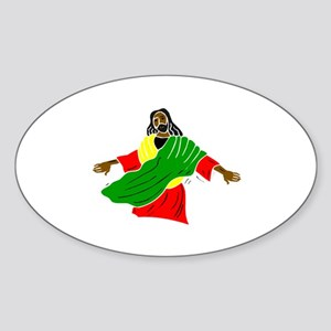 African American religion Sticker