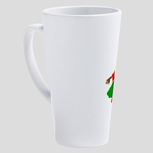 African American religion 17 oz Latte Mug