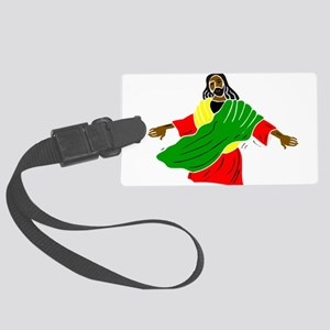 African American religion Large Luggage Tag