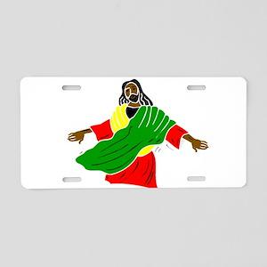 African American religion Aluminum License Plate