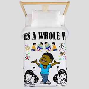 African American Twin Duvet Cover