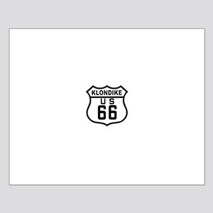 Klondike Route 66 Small Poster