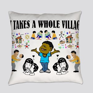 African American Everyday Pillow