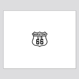 Barstow Route 66 Small Poster