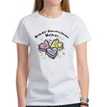 Beardie Conversation Hearts Women's T-Shirt
