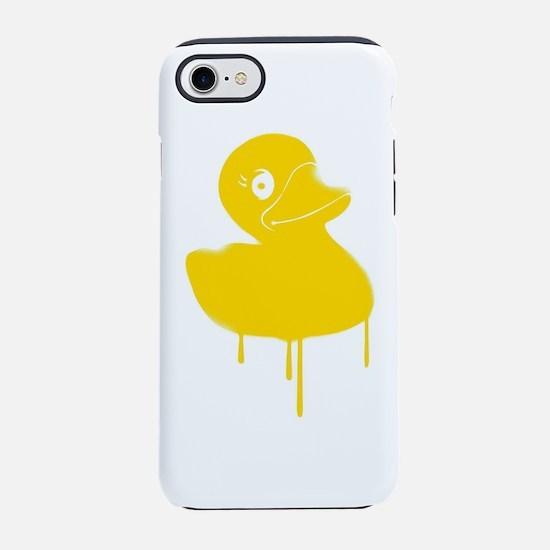 Rubber Ducky Graffiti Pop Ar iPhone 8/7 Tough Case