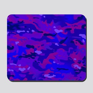 Crazy Camouflage Mousepad