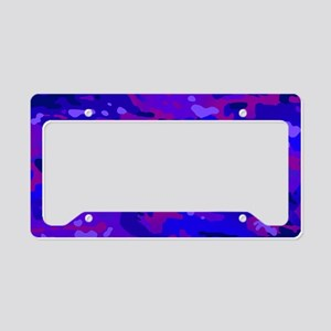 Crazy Camouflage License Plate Holder