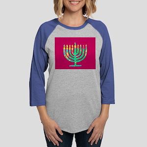 Hanukkah Menorah Kibbitz 4Josh Long Sleeve T-Shirt