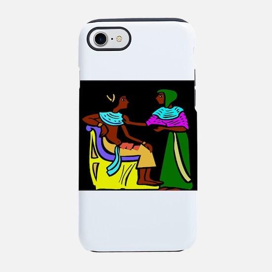 Black Egyptians iPhone 8/7 Tough Case