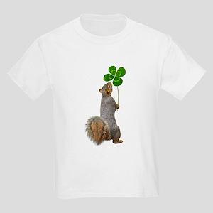 Squirrel 4 Leaf Clover T-Shirt