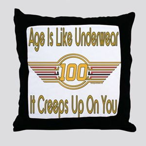 Sexy At 100 Throw Pillow