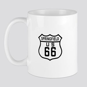 Springfield Route 66 Mug