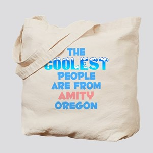 Coolest: Amity, OR Tote Bag