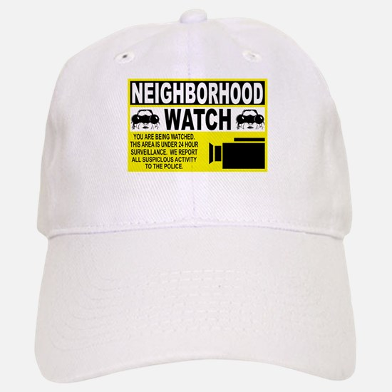 Neighborhood Watch Baseball Baseball Cap