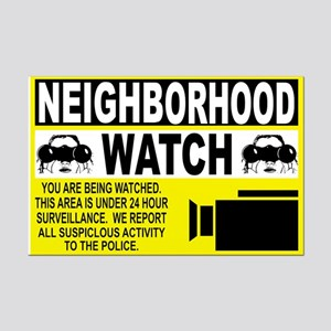 Neighborhood Watch Mini Poster Print