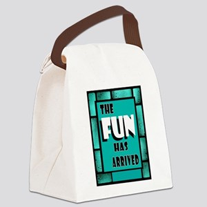 FUN ARRIVED Canvas Lunch Bag